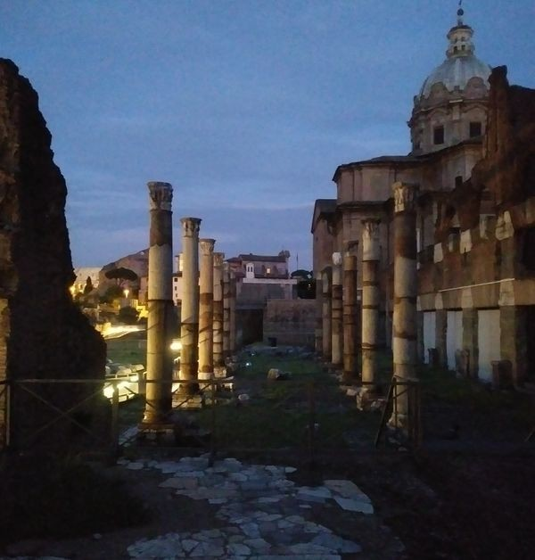 Forum of Caesar Light Show | Study Abroad | Arcadia Abroad