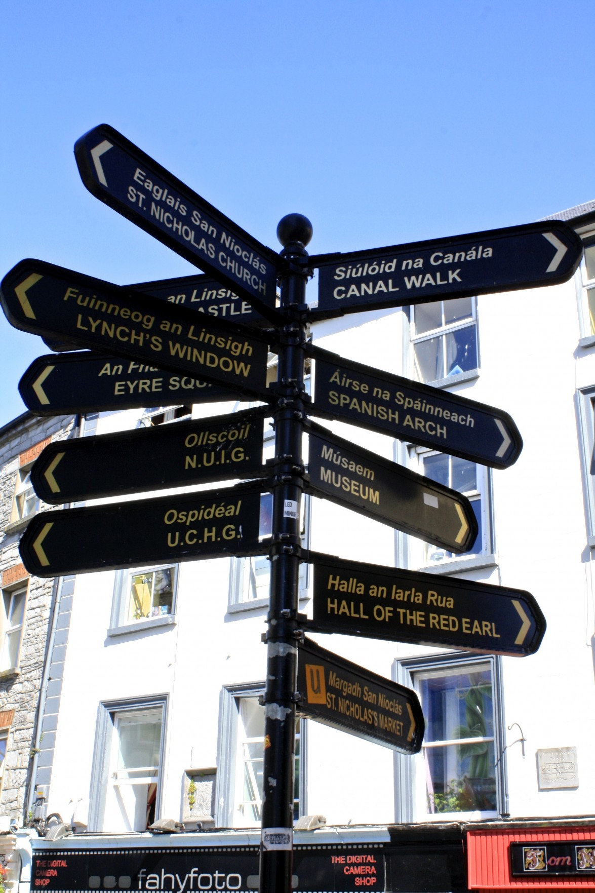 Image result for galway street sign