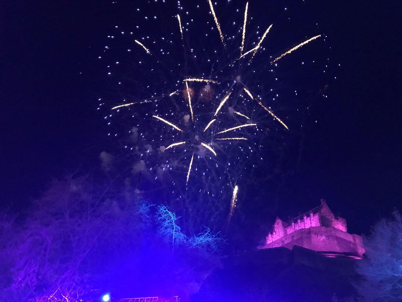 Edinburgh Castle Fireworks