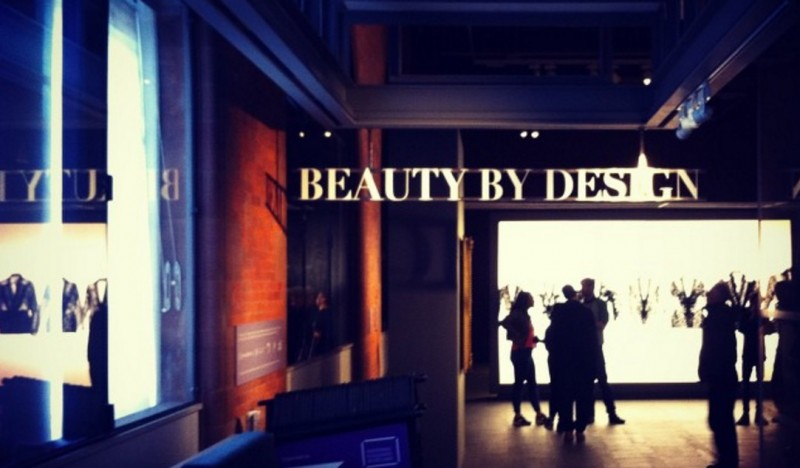'Beauty by Design', Scottish National Portrait Gallery, March 2015 (source: www.instagram.com/alexanderjarvisc/)