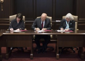 New Zealand Agreement Signing