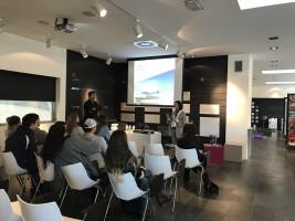 Lecture at Cosentino