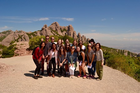 Excursion to Montserrat Mountain