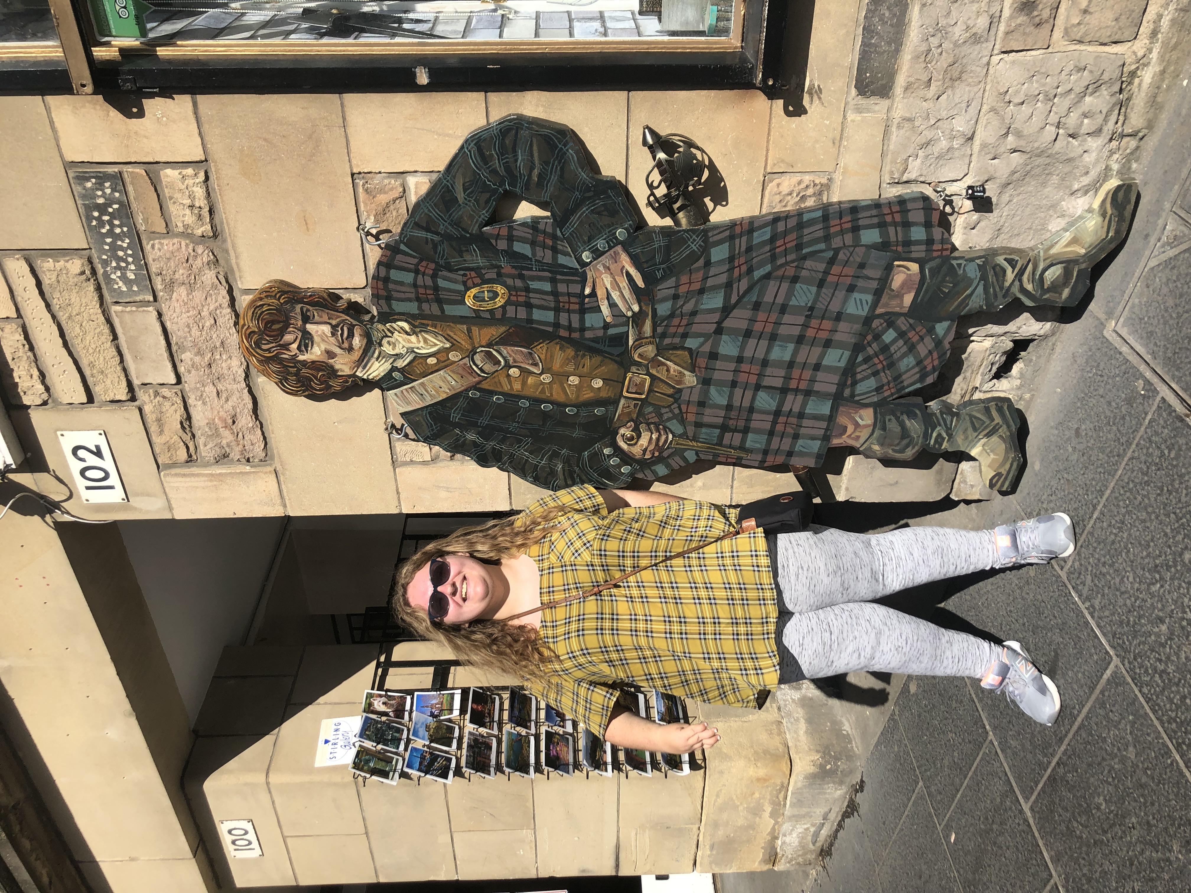 Rachael in Edinburgh