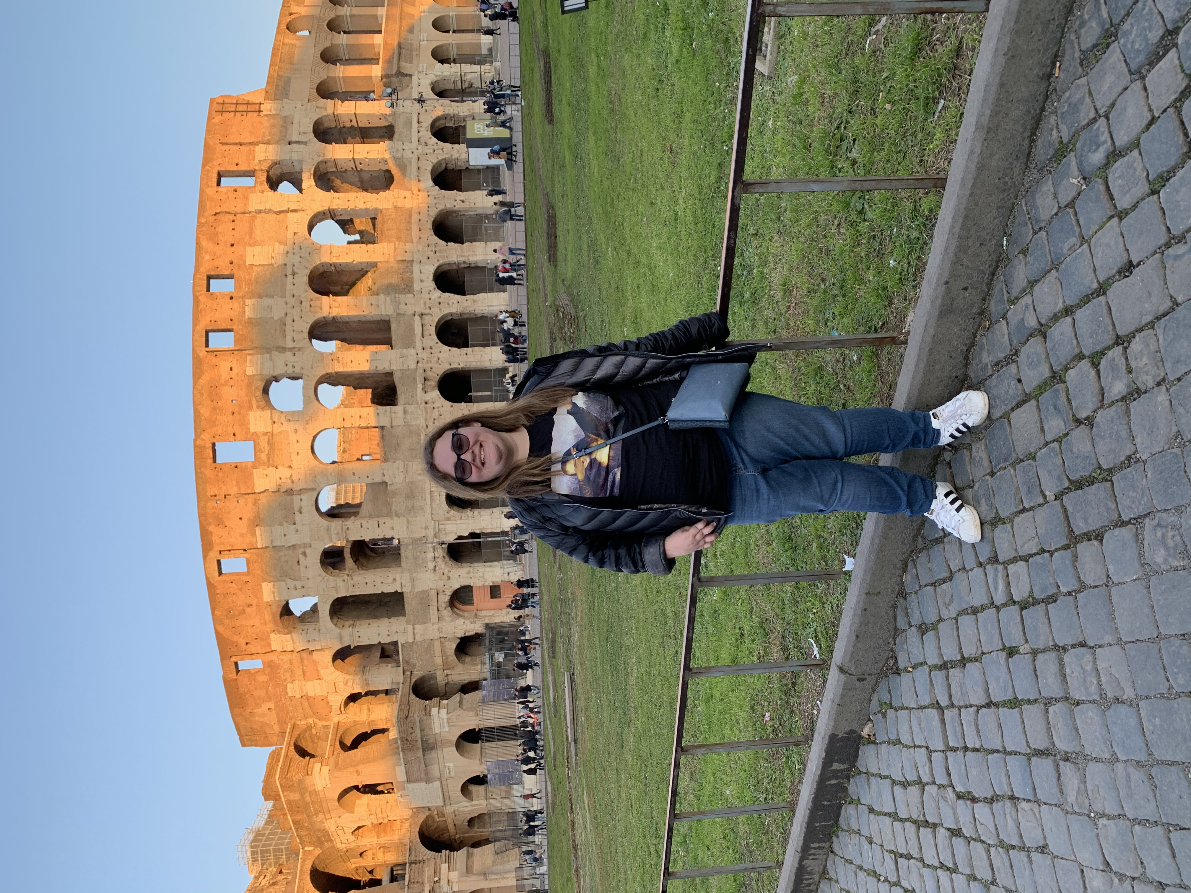 Rachael in Rome